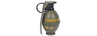 AC-419G M26 GRENADE TYPE GREEN GAS CHARGER (COLOR: OD GREEN)
