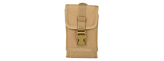 AC-619T TACTICAL 1000D NYLON MOLLE MOBILE BAG (TAN)