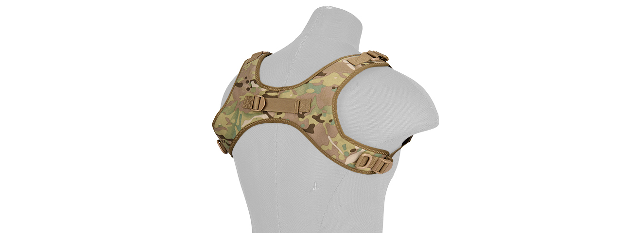 AC-639C WOSPORT TACTICAL 1000D NYLON ONE-POINT SLING VEST (CAMO)