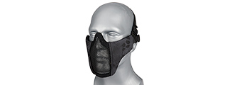 AC-642TP WOSPORT STEEL MESH NYLON LOWER FACE MASK (TYP)