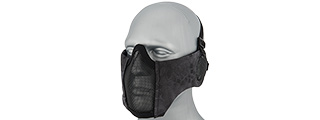 AC-643TP TACTICAL ELITE FACE AND EAR PROTECTIVE MASK (TYP)
