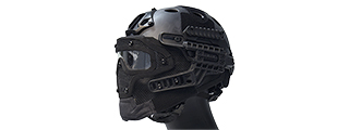 AC-820TP WOSPORT TACTICAL G4 SYSTEM BUMP HELMET MASK W/ GOGGLES (TYP)
