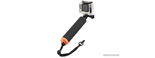 AC-861B POV FLOATING HAND DIVE BUOY GRIP FOR GOPRO (BLACK)