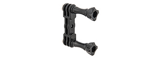 AC-864B FAST DUAL SPORTING CAMERA MOUNT FOR GOPRO (BLACK)