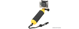 G-FORCE BOBBER FLOATING HAND GRIP FOR GOPRO CAMERAS (BLACK / YELLOW)