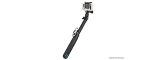 AC-868BL SELFIE CAMERA EXTENSTION GRIP FOR GOPRO (BLACK)