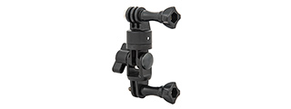 AC-874B FAST SWIVEL SPORTING CAMERA MOUNT FOR GOPRO (BLACK)