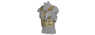 AC-882C LASER CUT AIRSOFT CHEST RIG W/ SLING (CAMO)
