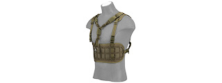 AC-882G LASER CUT AIRSOFT CHEST RIG W/ SLING (OD GREEN)
