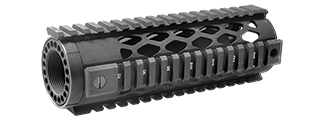 "ATLAS CUSTOM WORKS DIAMOND STYLE 7"" QUAD RAIL SYSTEM (CARBINE LENGTH)"