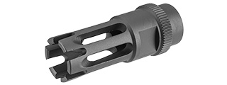 ARES-FH-025 14MM CLOCKWISE M16 FLASH HIDER TYPE F (BLACK