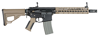 ARES-M4-KM10-DE ARES OCTARMS X AMOEBA M4-KM10 ASSAULT RIFLE (TWO TONE)