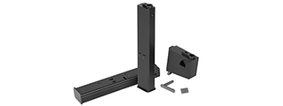 ARES-MAG-038-BK ARES 9MM LOW-CAP MAGAZINE + ADAPTER SET (BK)