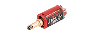 ARES-MOTOR-003 SUPER HIGH TORQUE LONG TYPE MOTOR (RED)