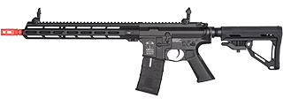 ICS CXP-MMR M4 ELECTRIC BLOWBACK AIRSOFT AEG RIFLE - BLACK