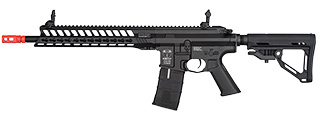 ICS CXP-YAK C S1 KEYMOD AIRSOFT EBB RIFLE - BLACK