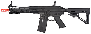 ICS CXP M.A.R.S. M4 SBR ELECTRIC BLOWBACK AIRSOFT AEG RIFLE - BLACK