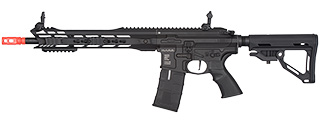 ICS CXP M.A.R.S. CARBINE KEYMOD EBB SSS AIRSOFT AEG RIFLE - BLACK