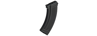 BIK-49 FULL METAL 100RD AK47 AEG MID-CAP AIRSOFT MAGAZINE (BLACK)