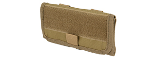 C205K CODE11 TACTICAL FORWARD OPENING ADMIN POUCH (COYOTE)