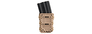 CA-1217TM HIGH SPEED INTERCHANGEABLE TACTICAL MOLLE POUCH (TAN)