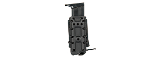 CA-1218BB HIGH SPEED AIRSOFT PISTOL MAGAZINE BELT CLIP POUCH (BLACK)
