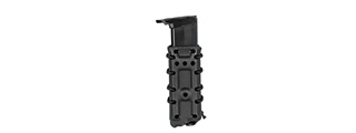 CA-1218BM HIGH SPEED AIRSOFT PISTOL MAGAZINE MOLLE POUCH (BLACK)