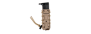CA-1218TM HIGH SPEED AIRSOFT PISTOL MAGAZINE MOLLE POUCH (TAN)