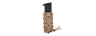 CA-1219TM HIGH SPEED AIRSOFT SLIM PISTOL MAGAZINE MOLLE POUCH FOR M1911-TYPE (TAN)