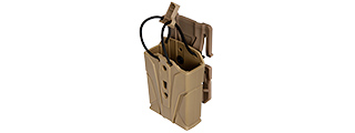 CA-1225TM HIGH SPEED M4/M16 MAGAZINE MOLLE POUCH (TAN)