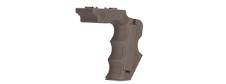 CA-1243T IMPACT KEYMOD FOREGRIP W/ STORAGE SPACE (DARK EARTH)