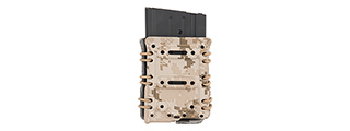 CA-1267DD HIGH SPEED INTERCHANGEABLE BELT MAGAZINE POUCH (DESERT DIGITAL)