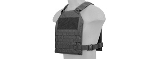 CA-1512BN STANDARD ISSUE 1000D NYLON PLATE CARRIER (BLACK)