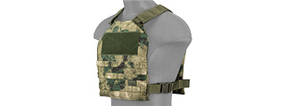 CA-1512FN STANDARD ISSUE 1000D NYLON PLATE CARRIER (FOLIAGE GREEN)