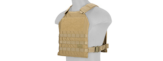 CA-1512KN STANDARD ISSUE 1000D NYLON PLATE CARRIER (KHAKI)