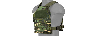CA-1512MTN STANDARD ISSUE 1000D NYLON PLATE CARRIER (TROPIC CAMO)