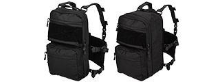 CA-1615BN QD CHEST RIG LIGHTWEIGHT BACKPACK (BLACK)