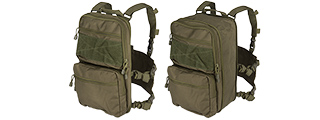 CA-1615GN QD CHEST RIG LIGHTWEIGHT BACKPACK (OD)