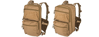CA-1615KN QD CHEST RIG LIGHTWEIGHT BACKPACK (KHAKI)