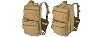 CA-1615TN QD CHEST RIG LIGHTWEIGHT BACKPACK (TAN)