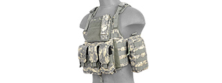 CA-305AN AIRSOFT GEAR PLATE CARRIER VEST - ACU