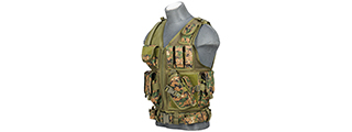 CA-310DN CROSSDRAW VEST 1000D NYLON (DIGITAL MARPAT)