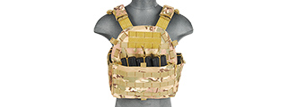 CA-311C2N 1000D NYLON AIRSOFT MOLLE PLATE CARRIER (CAMO)