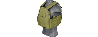 CA-311GN 69T4 1000D NYLON PLATE CARRIER (OD GREEN)