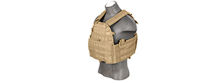 CA-311TN 69T4 1000D NYLON PLATE CARRIER (TAN)