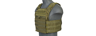 CA-313GN 1000D NYLON SPEED ATTACK PLATE CARRIER (OD GREEN)