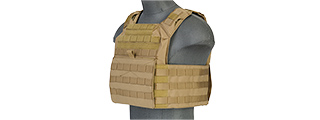 CA-313TN 1000D NYLON SPEED ATTACK PLATE CARRIER (TAN)