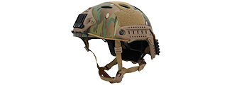 CA-725C ADJUSTABLE HELMET PJ TYPE - LARGE/X-LARGE (CAMO)