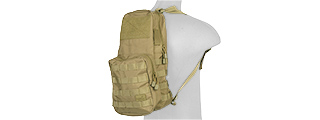 CA-880KN 1000D NYLON MOLLE HYDRATION (COYOTE BROWN)