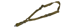 CA-979G TACTICAL BUNGEE SINGLE POINT SLING (OD GREEN)